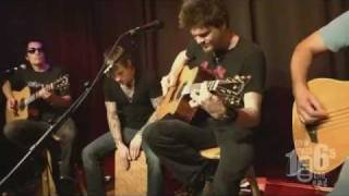 Crossfade - Killing Me Inside (Studio Acoustic) - 2011