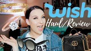 WISH APP HAUL AND REVIEW ( TRY ON) || May 2019