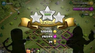 Clash Of Clans Farming With Mobile Gaming - Episode One GiWiWi and Dragons!