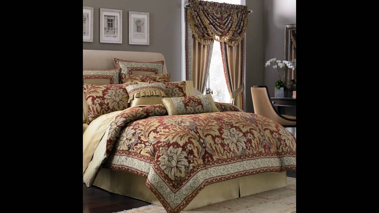 Bedroom Comforter And Curtain Sets