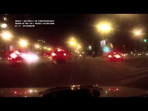 Последствия аварии  на перекрестке Замшиной с Блюхера