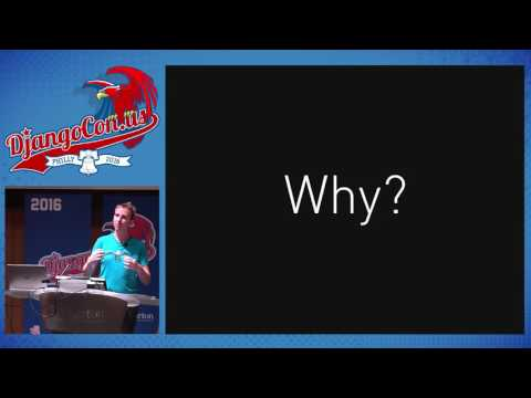 DjangoCon US 2016 - Keynote: Architecting with Channels by Andrew Godwin