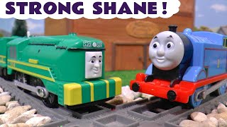 Thomas and Friends Trackmaster Shane from Big World Big Adventures Shows His Strength TT4U