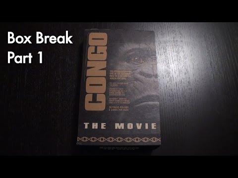 Congo Upper Deck Trading Cards Box Break Part 1