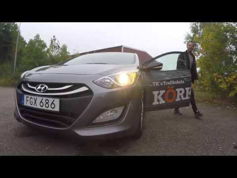 Fullständig säkerhetskontroll på personbil (B)