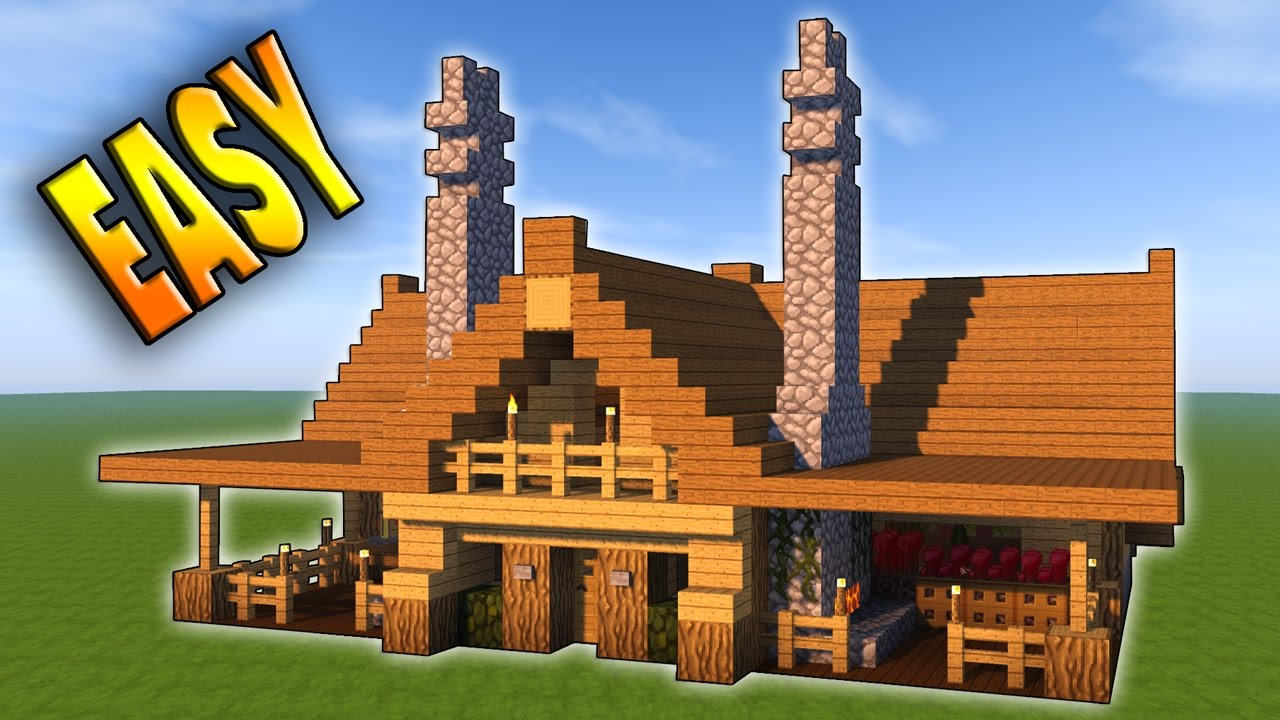 Minecraft: How To Build The Ultimate Survival House Tutorial   YouTube