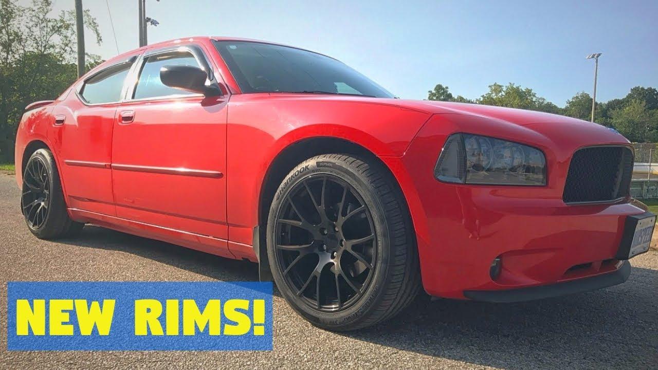New Rims Tires Hellcat Replicas 275s Youtube