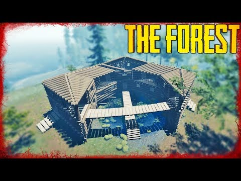HOW TO BUILD THE POND HOUSE   The Forest