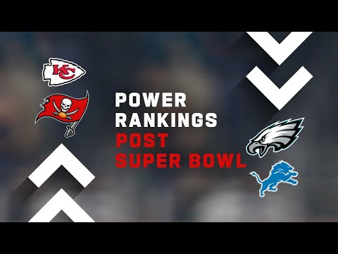Post Super Bowl Power Rankings Show!