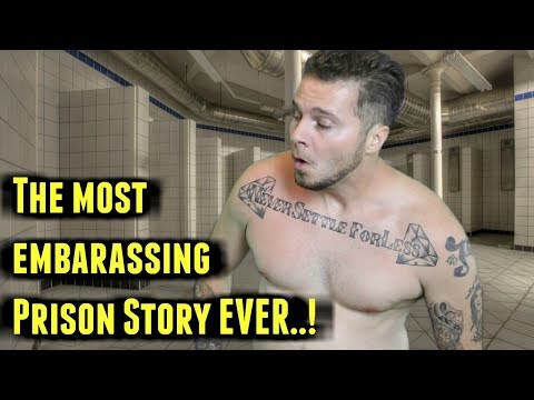 I Got CAUGHT In A Prison Shower ( Prison Story )