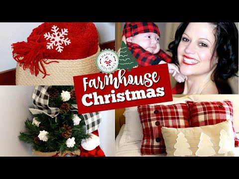 CHRISTMAS DECORATE WITH ME 2019! COZY FARMHOUSE CHRISTMAS HOME DECORATING IDEAS | GUEST ROOM 🌲