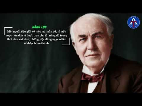 [BÀI HỌC CUỘC SỐNG] - 07 Bài Học Thành Công Của Thomas Edison