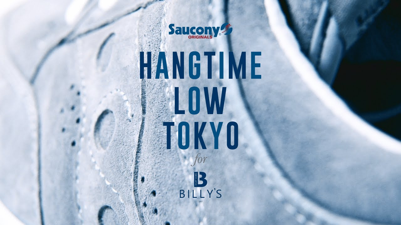 HANGTIME LOW TOKYO for BILLY'S