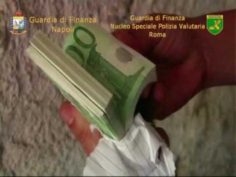 La Guardia di Finanza scopre a Napoli la prima stamperia delle nuove 20 euro