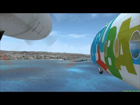 how to get from curacao to aruba