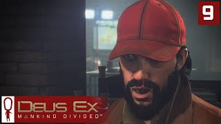 Deus Ex Mankind Divided Gameplay Part 9 - The Golden Ticket - Lets Play [Stealth Pacifist PC]