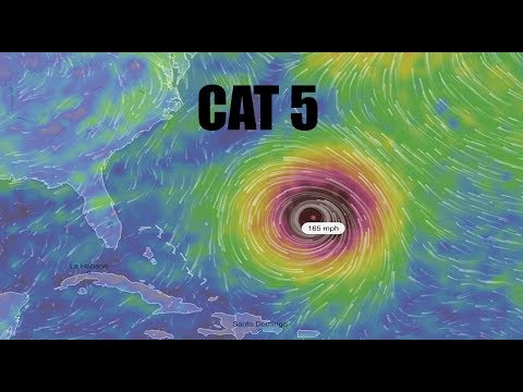 NEW - Tropical Update: Models show BIG CAT 5 to form in Atlantic - East Coast Heading