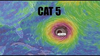 NEW - Tropical Update: Models show BIG CAT 5 to form in Atlantic - East Coast Heading thumbnail