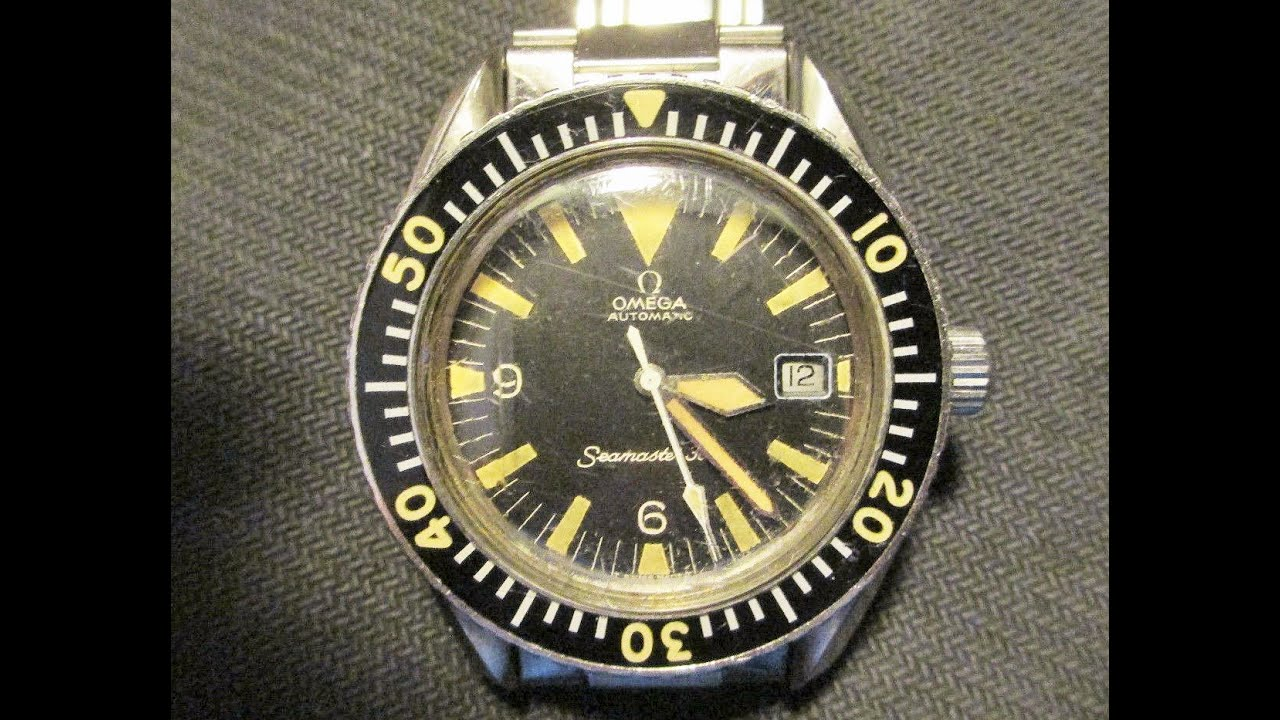 85524e81159c7 Vintage Original OMEGA Seamaster 300 Watch - YouTube