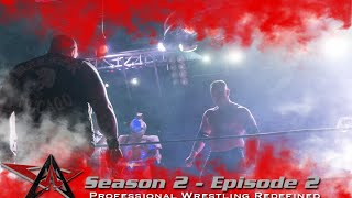 aaw pro wrestling season 2 episode 2 ryan boz vs keith walker