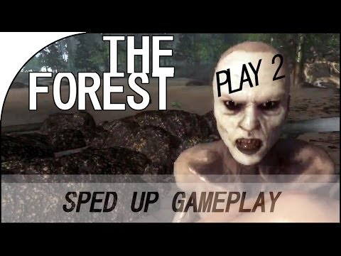 The Forest Alpha 0.02 - 1 Hour Gameplay Sped Up #2