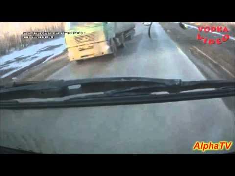 Rosja wypadki samochodów / zobacz koniecznie