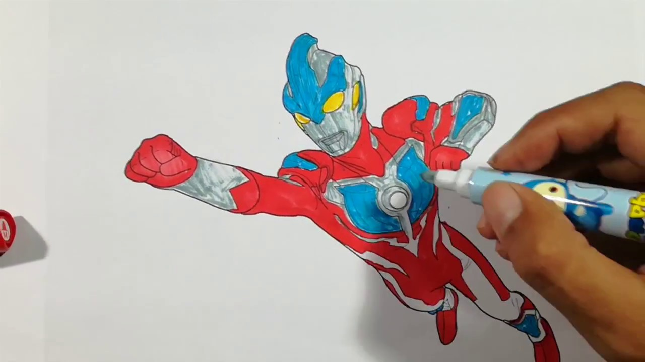 Ultraman GINGA Best Fight Coloring Pages SAILANY Kids
