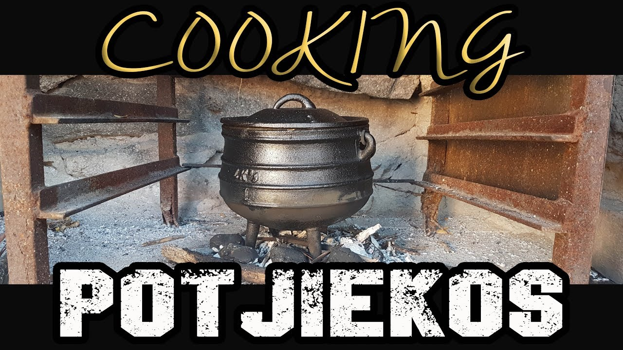 Cooking Potjiekos - Traditional South African Food