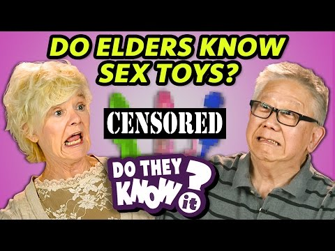 Thumbnail: DO ELDERS KNOW SEX TOYS? (REACT: Do They Know It?)
