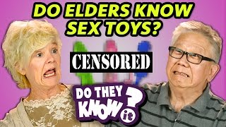 DO ELDERS KNOW SEX TOYS? (REACT: Do They Know It?)