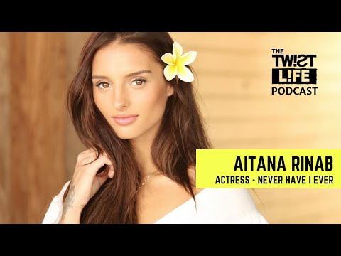 Never Have I Ever Actress Aitana Rinab Talks Life With DJ Twist