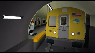 Subway Train Simulator run to Queens St. // Roblox