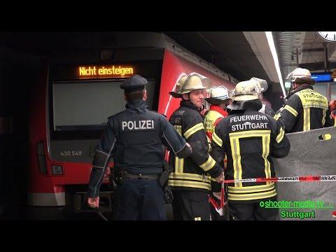 [GLÜCK IM UNGLÜCK] - Person fällt vor einfahrenden Zug - (Einsatz in S-Bahn Station) - [E]