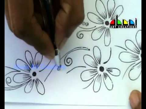Floral Design 02 YouTube