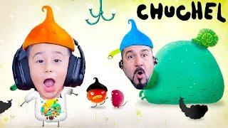 OYUNCU SALYANGOZ! PAC-MAN TETRIS ASTEROID! | CHUCHEL #2