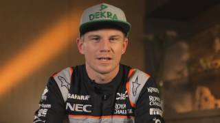 F1 Track Preview with N.Hülkenberg - GP of Belgium 2016 | AutoMotoTV