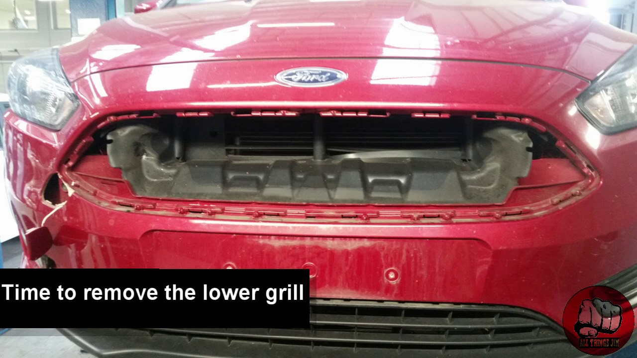 How To Replace Both Front Grills On A Ford Focus 2017 Mk 3
