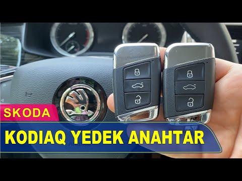 Skoda Kodiaq Anahtar Yapımı   Yedek Kopyalama - Oto Anahtarcı İstanbul