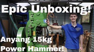 Unboxing - Anyang 15KG Power Hammer