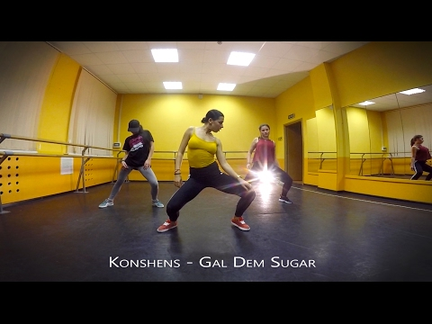 Konshens - Gal Dem Sugar (Beenie Man Remix) | DANCEHALL Routine by Julia
