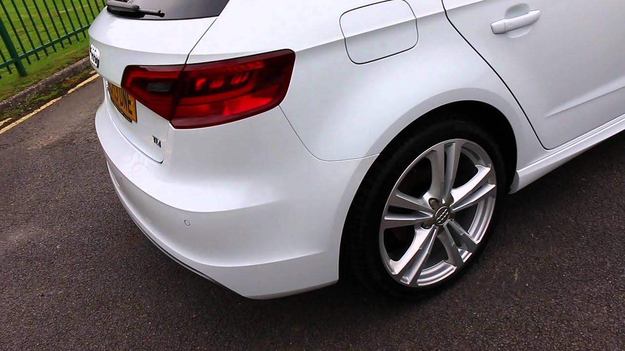 2013 13 Audi A3 Sportback 2 0 Tdi S Line - YouTube  Audi A S Line Package Tdi on