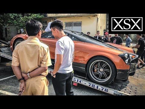 Minh Nhựa Cho CSGT Trải Nghiệm Pagani Huayra 80 Tỷ | XSX