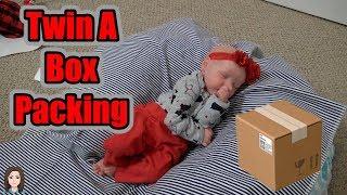 Custom Reborn Baby Twin A #4 Box Packing! | Kelli Maple