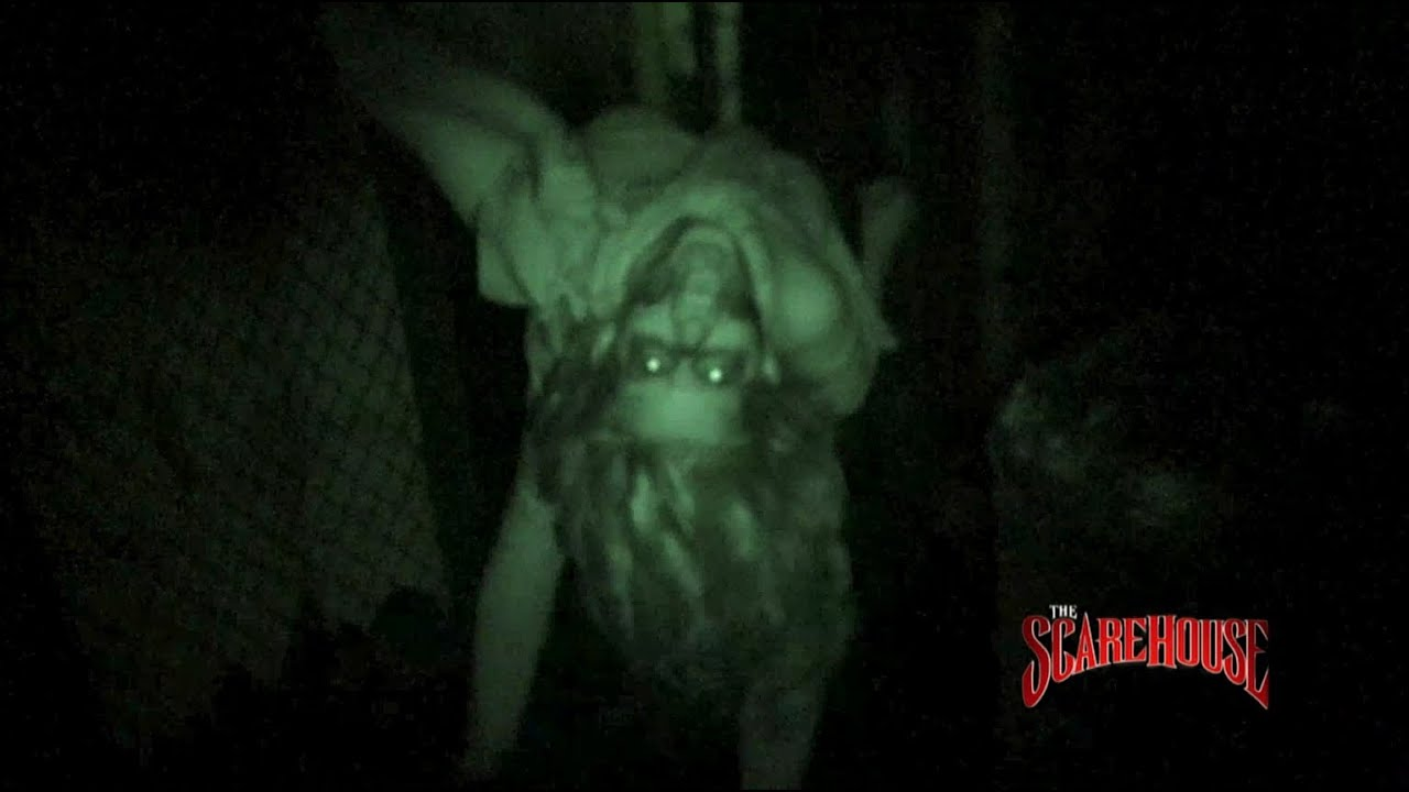 Elegant The ScareHouse Turns Out The Lights   Blackout Haunted House   YouTube
