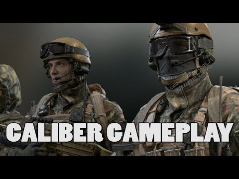 Caliber NEW gameplay (Wargaming)