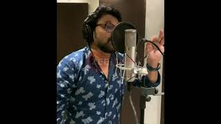 BJP West Bengal theme song recording by Babul Supriyo
