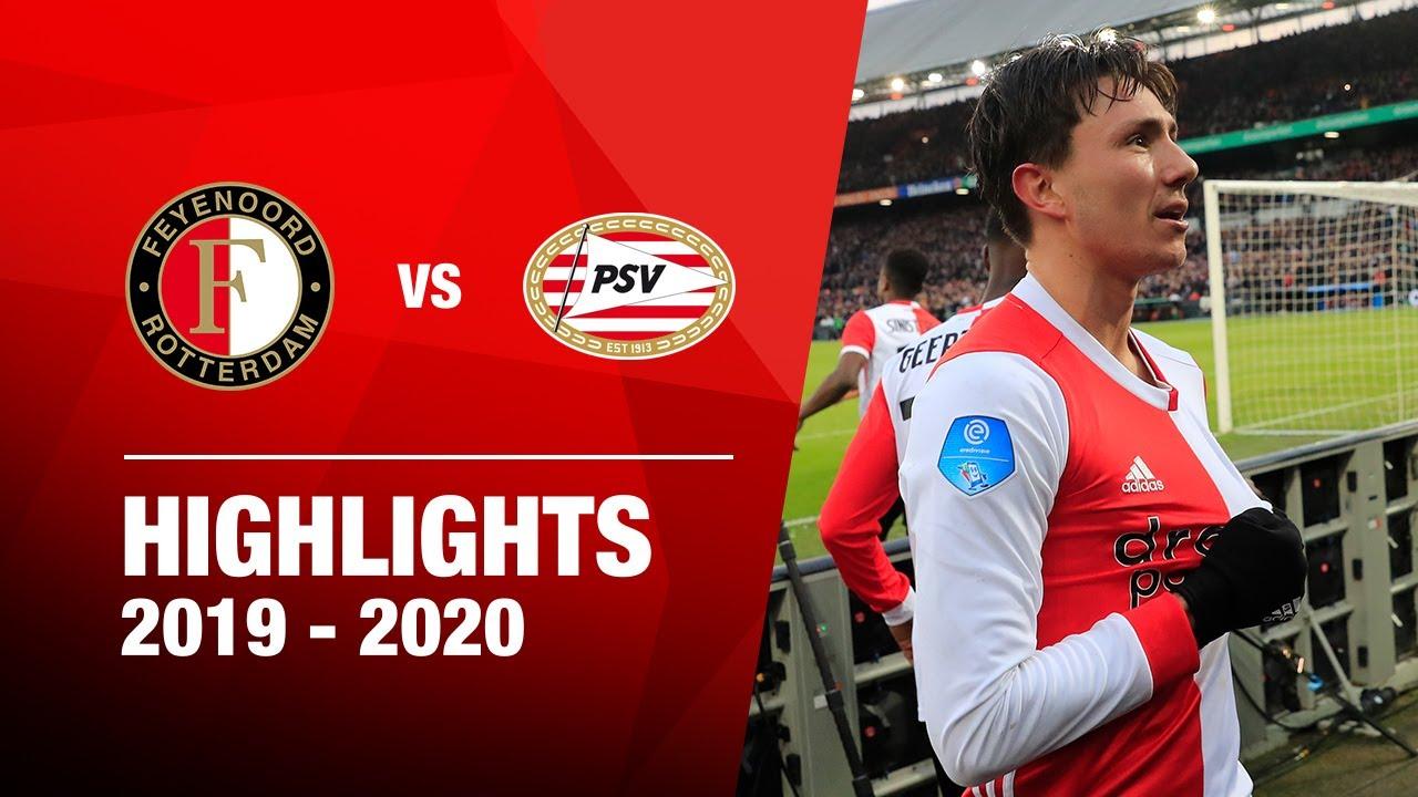 highlights feyenoord psv 2019 2020
