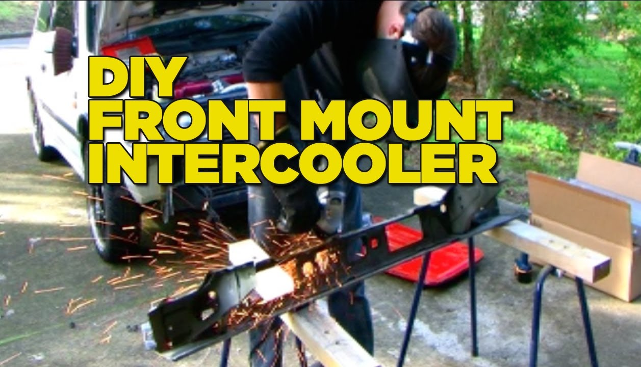 how to install a front mount intercooler [ 1257 x 720 Pixel ]