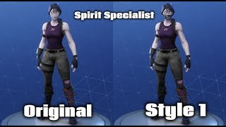 AN EARLY LOOK AT THE 2018 HALLOWEEN FORTNITE SKINS (SPIRIT SPECIALIST LEAKED)