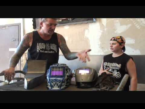 """Automobile Restoration-DIY Metal Fabrication-The """"Third' Lesson To Mig Welding!"""